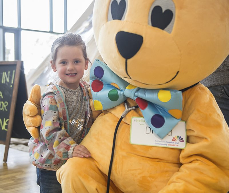 Rotherham mayor unveils un-bear-leavable new charity mascot
