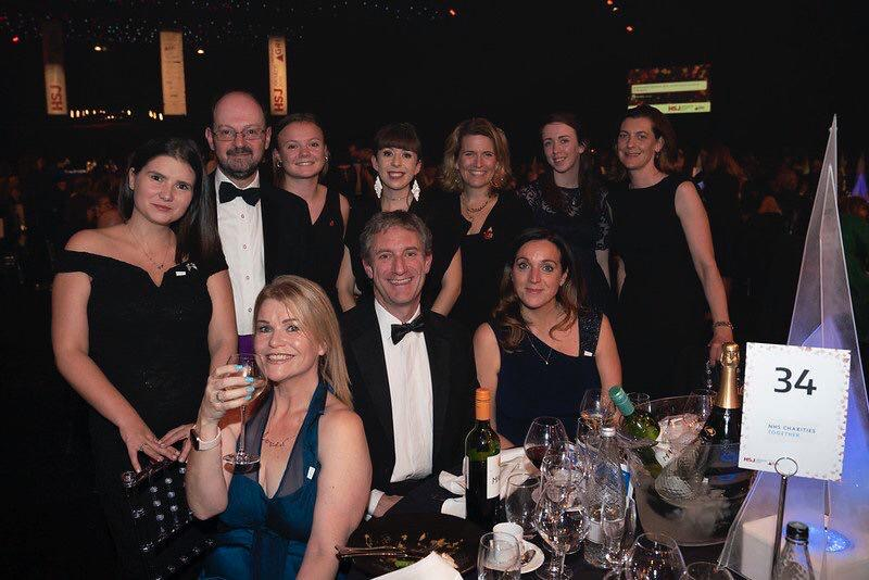 Winning at the HSJ Awards 2019