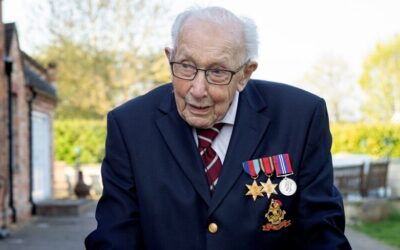 Happy 100th birthday Captain Tom Moore
