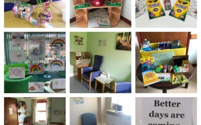 NHS staff praise Wobble Rooms stocked with Covid-19 Appeal Grant funded resources