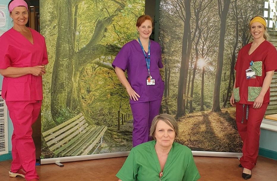 National Covid-19 Appeal funds material for scrubs making volunteers