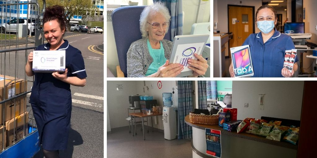 Wellbeing rooms for NHS superheroes funded with Covid-19 Urgent Appeal Grant
