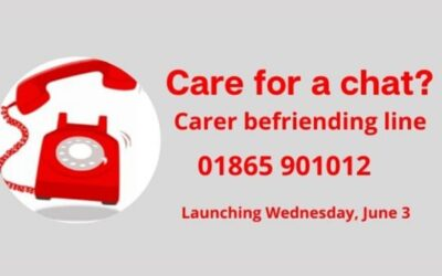 Phone line for carers launched thanks to generous donations to the Covid-19 Urgent Appeal