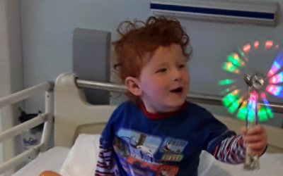 Donations to Covid-19 Appeal fund sensory and interactive toys for children's ward