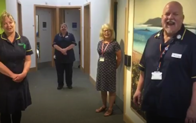 NHS staff say thank you for Covid-19 Appeal funding