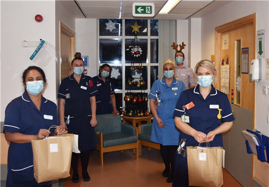 NHS Charity Together funds help spread festive cheer