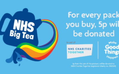 Morrisons stores support the NHS Big Tea with Every Pack Gives Back to thank the NHS
